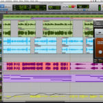 Avid Pro Tools 12 Edit Window
