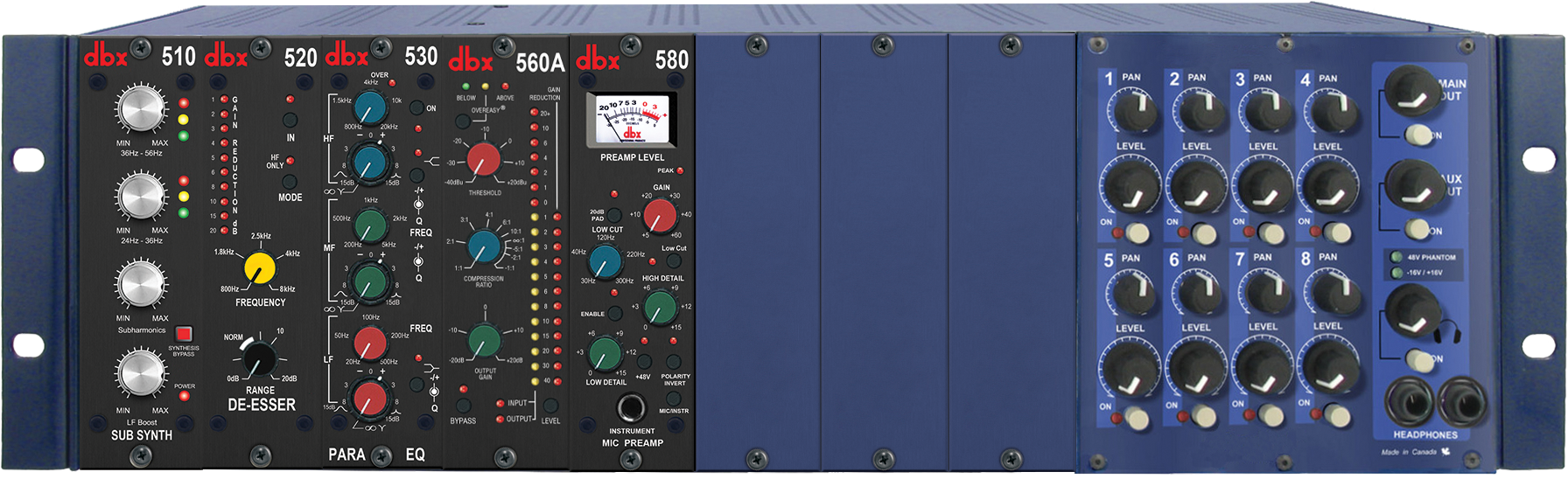 dbx 500 Serieces Processors at NAMM 2015