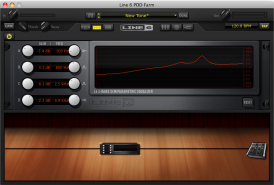 POD Farm 2.5 Graphic EQ