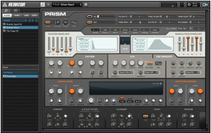 NI's Reaktor Using Prism Synth