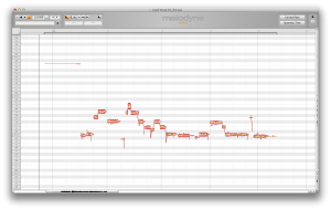Melodyne Editor Main Window